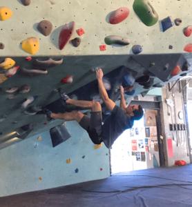 tweaky shoulder pain for climbers